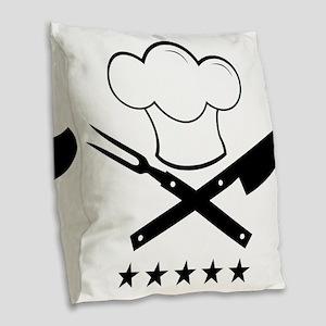 Cook Burlap Throw Pillow