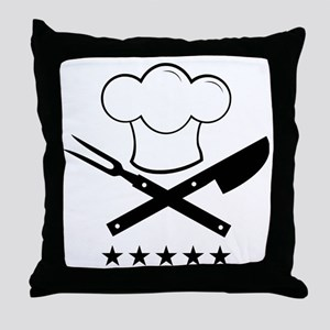 Cook Throw Pillow