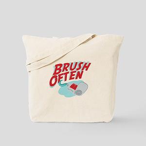 Brush Often Tote Bag