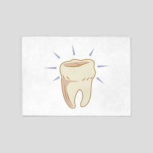 Molar Tooth 5'x7'Area Rug