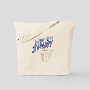 Shiny Tooth Tote Bag