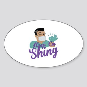 Shiny Dentist Sticker