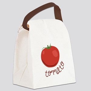 tomato Canvas Lunch Bag