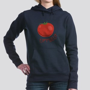 tomato Women's Hooded Sweatshirt