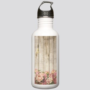 Vintage Rustic Romanti Stainless Water Bottle 1.0L