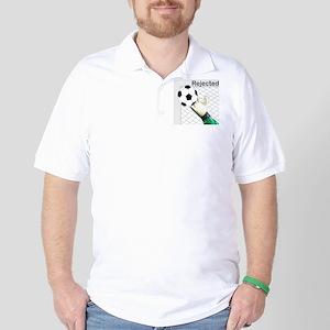 Rejected Soccer Ball Golf Shirt