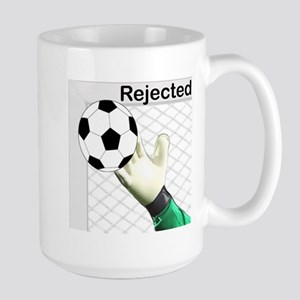 Rejected Soccer Ball Mugs