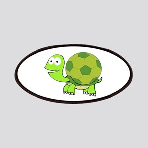 Turtle with Soccer Ball Shell Patch