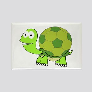 Turtle with Soccer Ball Shell Magnets