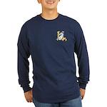 Hero-Unicorn Dark Long Sleeve T-Shirt