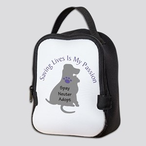 Saving Lives Is My Passion Neoprene Lunch Bag