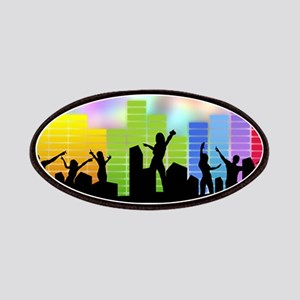 Colorful Musical Theme Patch