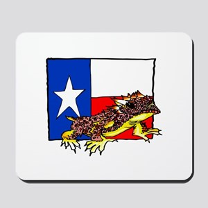 TEXAS HORNED TOAD Mousepad