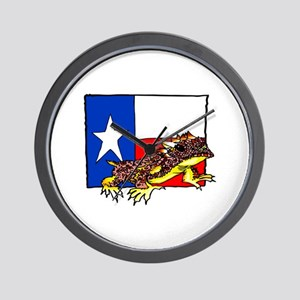 TEXAS HORNED TOAD Wall Clock
