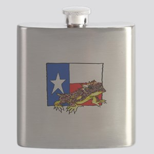 TEXAS HORNED TOAD Flask