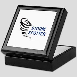 STORM SPOTTER Keepsake Box