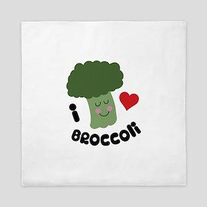 Love Broccoli Queen Duvet
