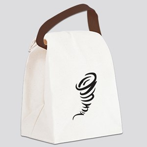 SMALL TORNADO Canvas Lunch Bag