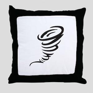 SMALL TORNADO Throw Pillow