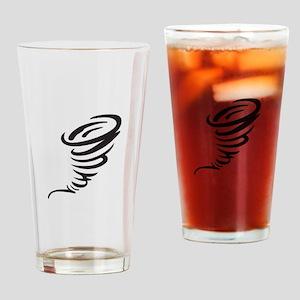 SMALL TORNADO Drinking Glass