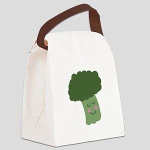 Happy Broccoli Canvas Lunch Bag