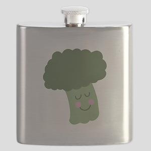 Happy Broccoli Flask