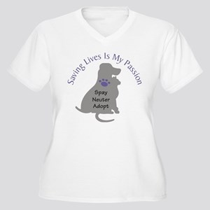 Saving Lives Is My Passion Plus Size T-Shirt