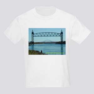 Railroad Bridge Kids Light T-Shirt