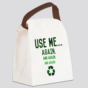 Use me Canvas Lunch Bag