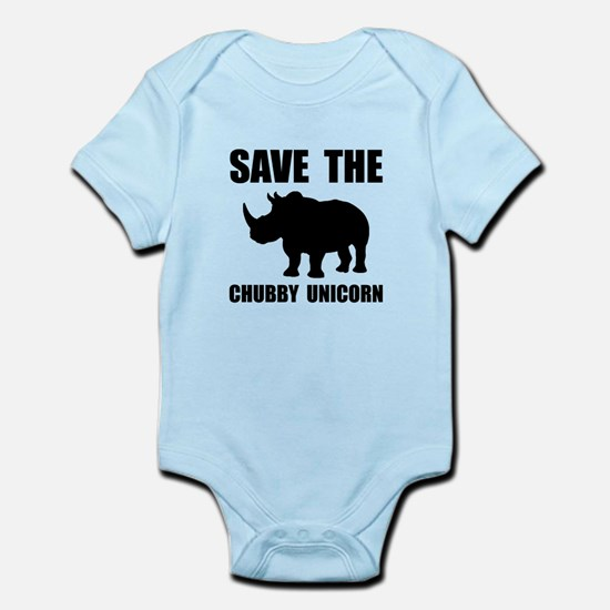 Chubby Unicorn Rhino Body Suit