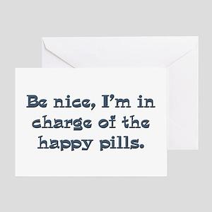 Pharmacist nurse gifts Greeting Card