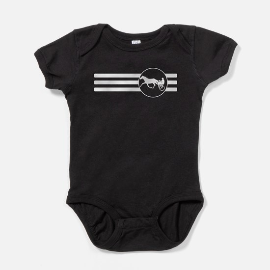 Harness Racing Stripes Baby Bodysuit