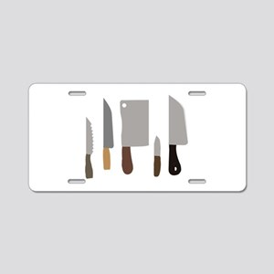 Chef Knives Aluminum License Plate