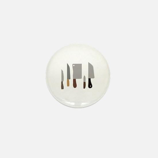 Chef Knives Mini Button
