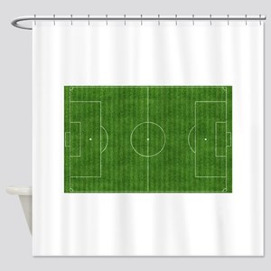 Fútbol Field Shower Curtain