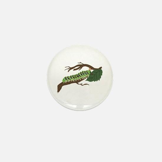 Caterpillar Mini Button