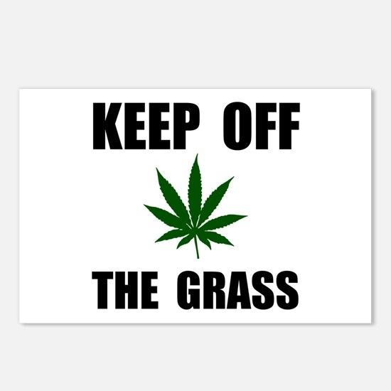 Keep Off The Grass Postcards (Package of 8)