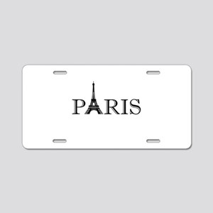 Paris Eiffel Tower Aluminum License Plate