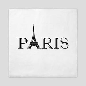 Paris Eiffel Tower Queen Duvet