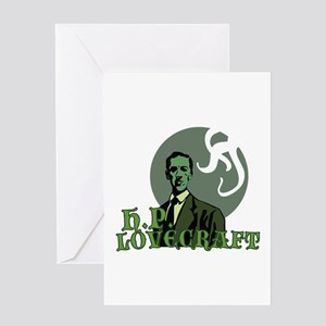 H p lovecraft greeting cards cafepress hp lovecraft greeting cards m4hsunfo