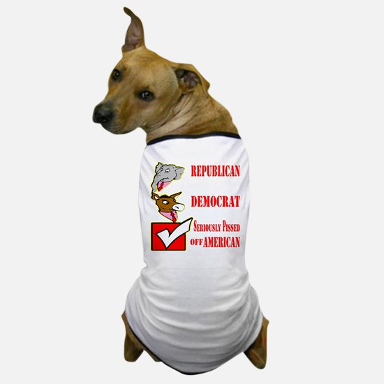 Seriously Pissed American Dog T-Shirt