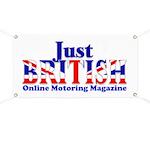 Just British Online Motoring Magazine Banner