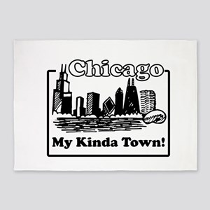 My Kinda Town 5'x7'Area Rug