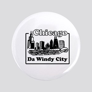 "Windy City 3.5"" Button"