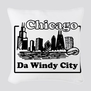 Windy City Woven Throw Pillow