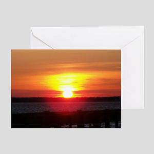 New Jersey Sunset Card