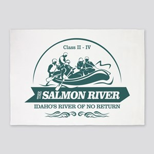 Salmon River 5'x7'Area Rug