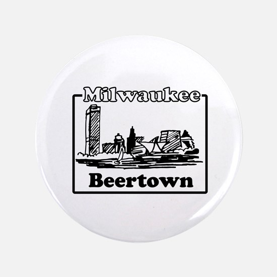 "Beertown 3.5"" Button"