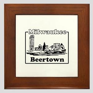 Beertown Framed Tile
