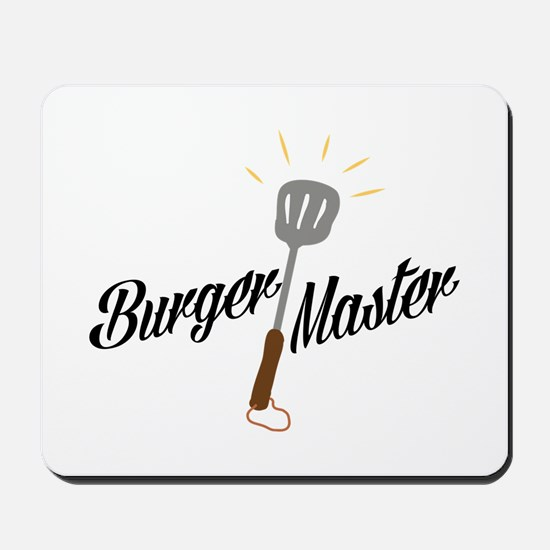 Burger Master Mousepad